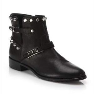 Stuart Weitzman Go West Studded Ankle Boots